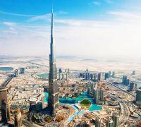 Entrée à la plateforme d'observation du 124ème du Burj Khalifa