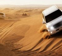 Safari dans le désert de Dubaï avec dîner dans les dunes